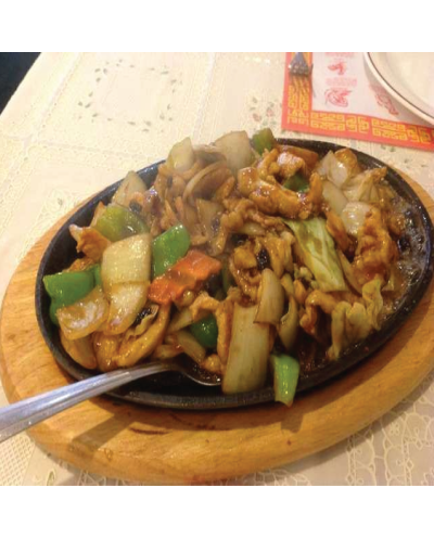 Chang Pai Sizzling Chicken