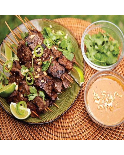 Beef with Satay Sauce
