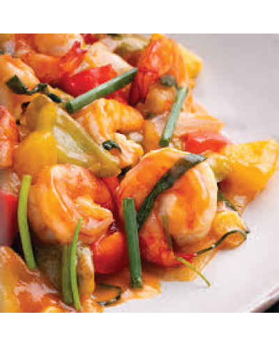 Sweet and Sour Tiger Prawn